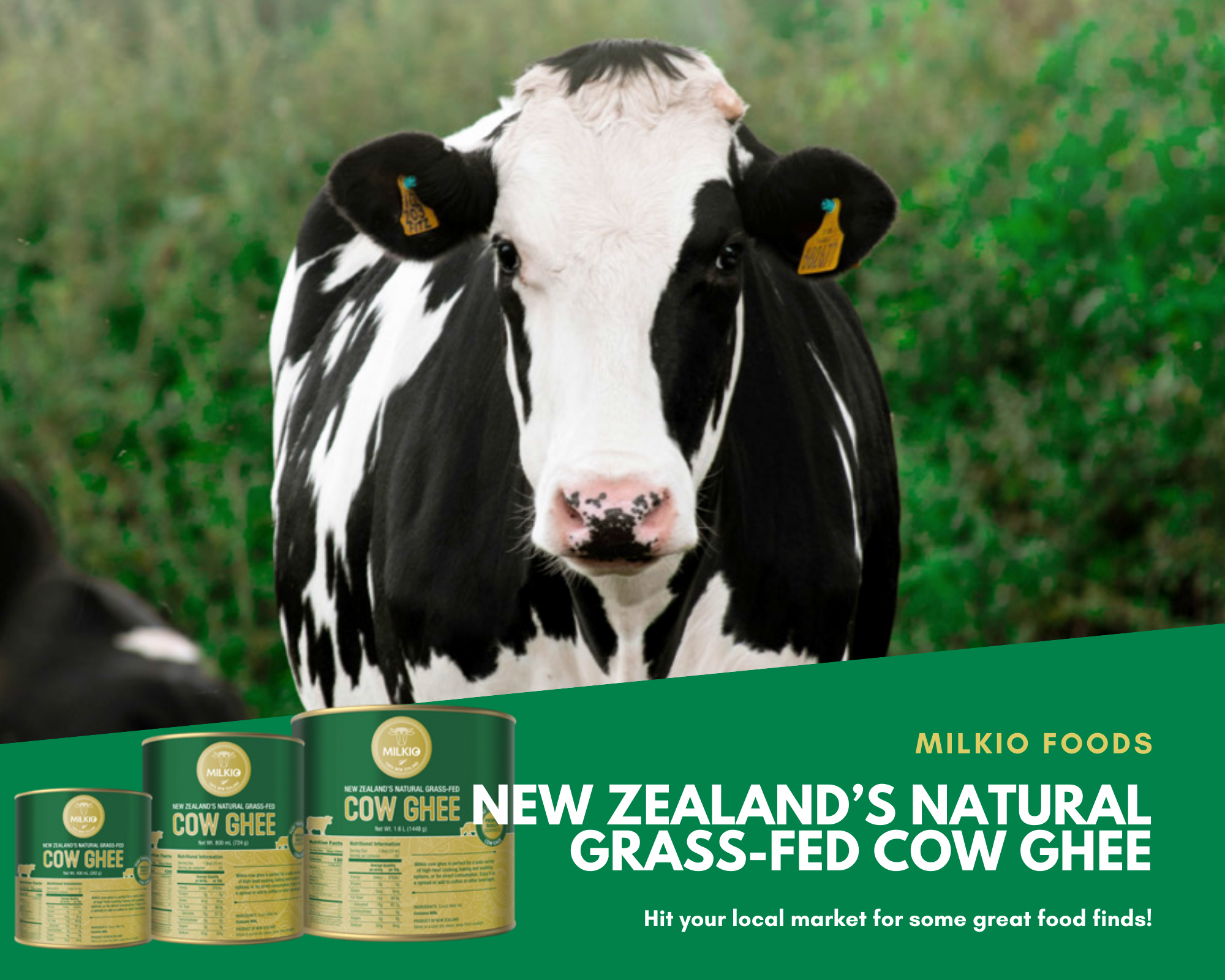 NEW ZEALAND'S NATURAL GRASS-FED COW GHEE PRODUCT SPECIFICATION
